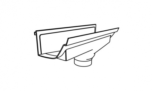 icon plastics 187 tropical guttering