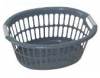 35lt Oval Laundry Basket with 2 Colour Handle