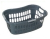 45lt Hip Hugger Laundry Basket with 3 Colour Handle