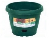 Sienna Round Self Water Pot 298 & 450mm Terracotta  Brunswick Green