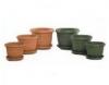 Vesna Design Round Pot 134, 157, 248, 298, 348, 395, 450, 500mm Terracotta  Brunswick